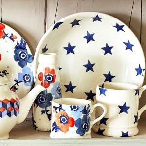 Emma Bridgewater Blue Star