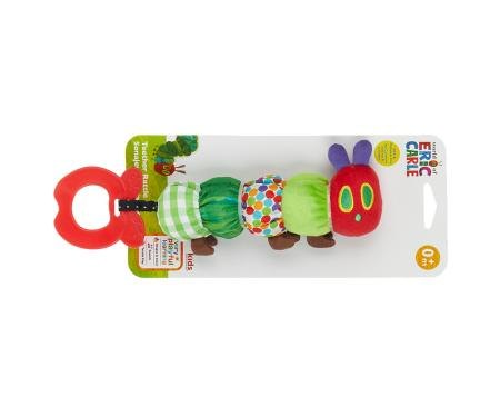 The Very Hungry Caterpillar Teether Rattle - Teethers   Baby Rattles -  Portmeirion Online ccac8e5fd