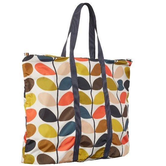 753b39177 Orla Kiely Multi Stem Foldaway Travel Bag | Buy Online Here ...