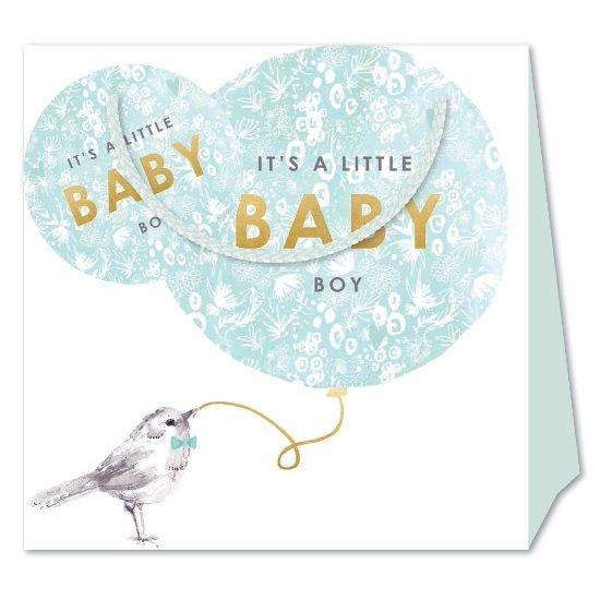 Louise Tiler Baby Boy Medium Gift Bag Gift Wrap Bags And Boxes