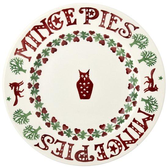 Christmas Bowls And Platters.Emma Bridgewater Christmas Joy Noel Plate