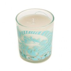 The Wave Scented Organic Candle Black Pomegranate Splash