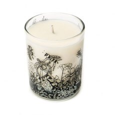Bee Free Scented Organic Candle Oats and Honey