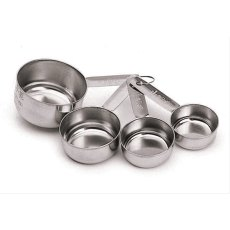 Kitchen Craft S/S 4pc Measuring Cup Set