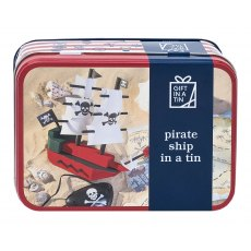 Gift in a Tin: Pirate Ship In A Tin