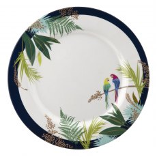 Sara Miller London Portmeirion Parrot Melamine Dinner Plate