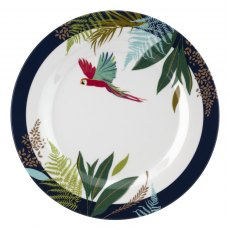 Sara Miller London Portmeirion Parrot Melamine Side Plate