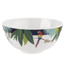 Sara Miller London Portmeirion Parrot Melamine Bowl