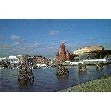 Cardiff Bay Fridge Magnet