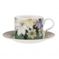 Portmeirion Atrium Tea Cup and Saucer