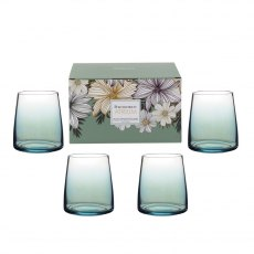 Portmeirion Atrium Stemless Wine Glass Set of 4