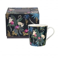 Sara Miller London Portmeirion Tahiti 12oz Mug Lemur