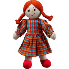 Lanka Kade Mum Doll - White Skin Red Hair