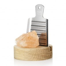 ORIGINAL Himalayan Rock Salt with Japanese Grater & Stand