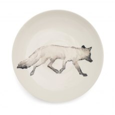 Fox Serving Bowl Large Grey