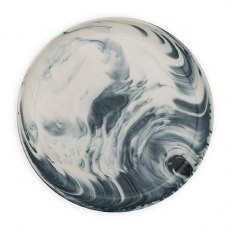 Grey Marble Dinner Plate