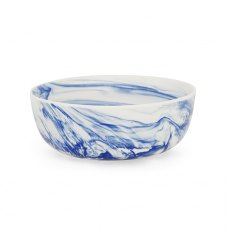 Blue Marble Salad Bowl
