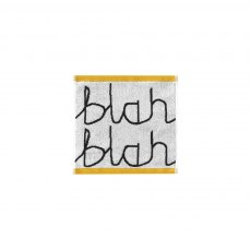 Donna Wilson Blah Blah Towels – Black/White
