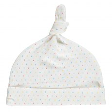First Kisses Organic Knot Hat 3-6 Months