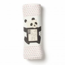 Little Kisses Organic Muslin Swaddle