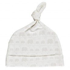 Elephant Family Organic Knot Hat 3-6 Months