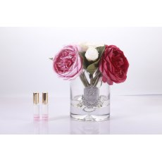 Peonies Bouquet Clear