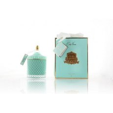 Cote Noire Grand Art Deco Candle Tiffany Blue