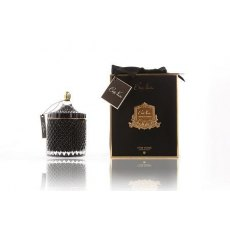 Cote Noire Grand Art Deco Candle Black