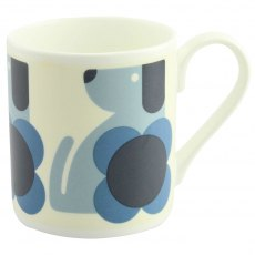 Orla Kiely Dog Blue Quite Big Mug