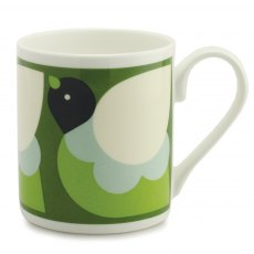 Orla Kiely Green Partridge Mug