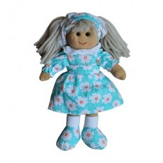 Rag Doll with Daisy Print Dress 20cm