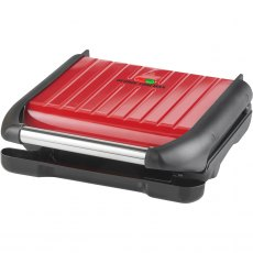 George Foreman Family Steel Grill 25040 Red