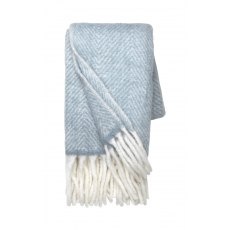 Mathea Melange Throw Dusty Blue