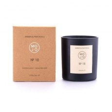 MOJO Amber & Patchouli Scented Candle No 18