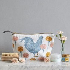 Thornback & Peel Classic Chicken & Carnation Cosmetic Bag
