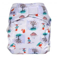 Tickle Tots Hybrid Nappy Perfect Puddles
