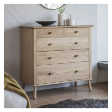 Wycombe Five Drawer Chest