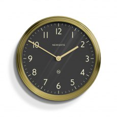 The Spy Radial Brass Wall Clock