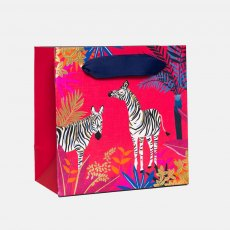 Sara Miller Zebra Small Gift Bag