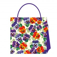 Emma Bridgewater Purple Pansy Small Gift Bag