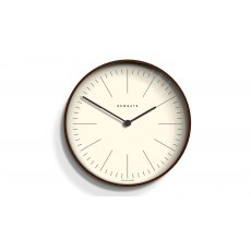 Mr Clarke Dark Wood Finish Wall Clock