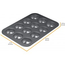 Chicago Metallic Non Stick 12 Hole Muffin Pan