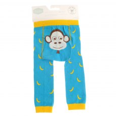 Ziggle Marley Monkey Leggings 6-12months