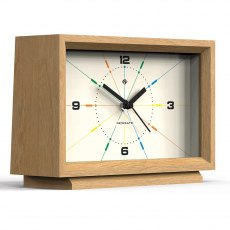 Newgate Hollywood Hills Mantel Clock Light Oak