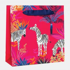 Sara Miller Zebra Medium Gift Bag