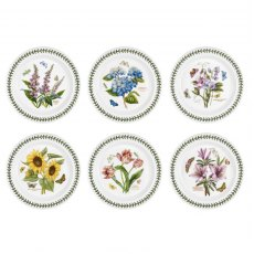 Botanic Garden 10 inch Plate Set Of 6