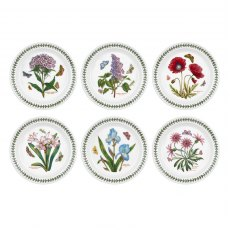 Botanic Garden 8 inch Plate Set Of 6