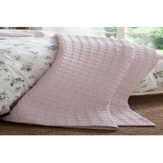Cabbages & Roses Sophie Pink Throw