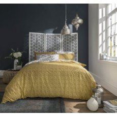Fat Face Oriental Bird Ochre Bedset (Reversible)