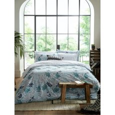 Fat Face Oriental Crane & Palm Bedset (Reversible)